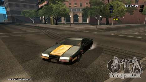Elegy-Hotring für GTA San Andreas zurück linke Ansicht
