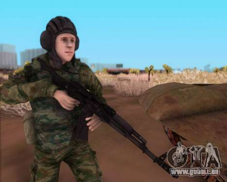 Kalachnikov AK-74M pour GTA San Andreas troisième écran
