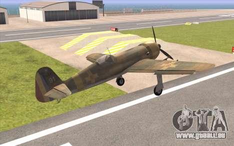 IAR 80 - Romania No 91 für GTA San Andreas linke Ansicht