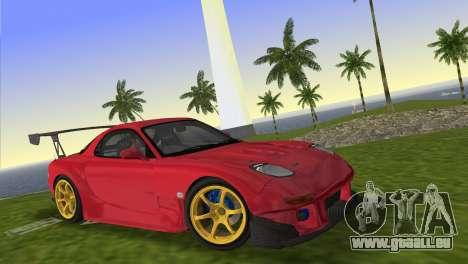 Mazda RX7 FD3S RE Amamiya Road Version für GTA Vice City