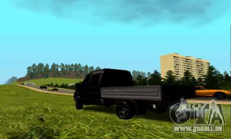 GAZ 3302 V8 Diables pour GTA San Andreas sur la vue arrière gauche