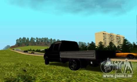 GAZ 3302 V8-Devils für GTA San Andreas zurück linke Ansicht