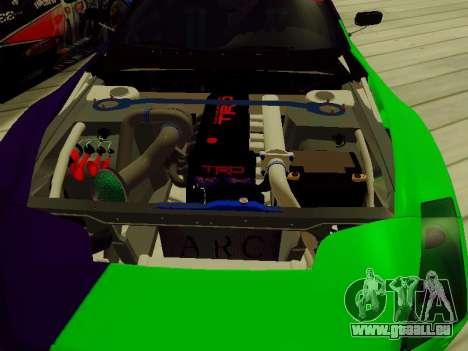 Toyota Supra Evil Empire pour GTA San Andreas vue de côté