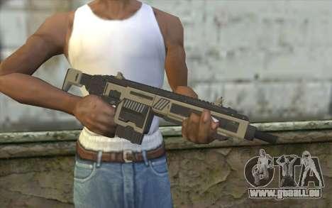 NS-11A Assault Rifle from Planetside 2 pour GTA San Andreas troisième écran