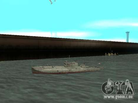 Torpedo-Boot Typ G-5 für GTA San Andreas