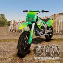 GTA V Maibatsu Sanchez wheels v2 pour GTA 4