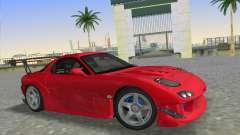 Mazda RX7 FD3S RE Amamiya Road Version pour GTA Vice City