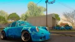 Porsche 911 Blue Star
