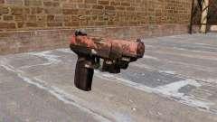 Pistolet FN Cinq à sept LAM Rouge tigre