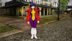 Andou Mahoro in battle suit