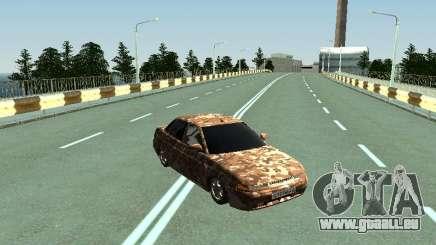 VAZ 2110 camouflage pour GTA San Andreas