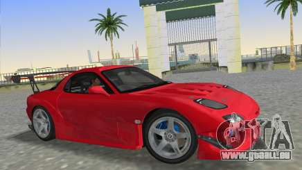 Mazda RX7 FD3S RE Amamiya Road Version für GTA Vice City