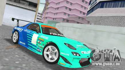 Mazda RX7 FD3S RE Amamiya Falken für GTA Vice City