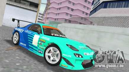 Mazda RX7 FD3S RE Amamiya Falken für GTA Vice City