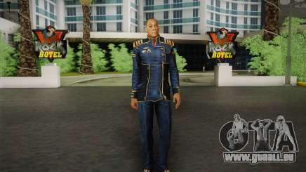 Le capitaine David Anderson из Effet de Masse de la série pour GTA San Andreas