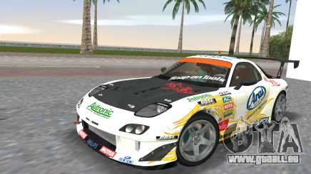 Mazda RX7 FD3S RE Amamiya Arial für GTA Vice City