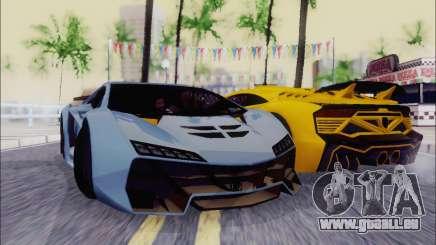 Zentorno GTA 5 V.1 pour GTA San Andreas