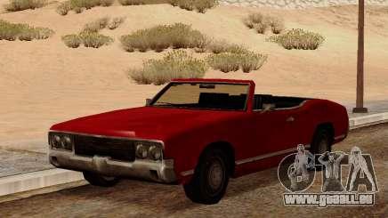 Sabre Cabrio für GTA San Andreas