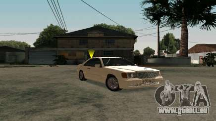 Mercedes-Benz W124 Coupe pour GTA San Andreas