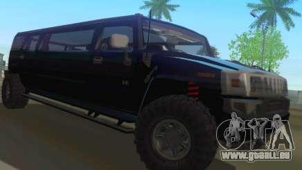 Hummer H2 Limousine für GTA San Andreas