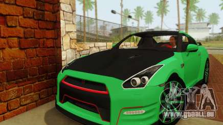 Nissan GTR Streets Edition pour GTA San Andreas