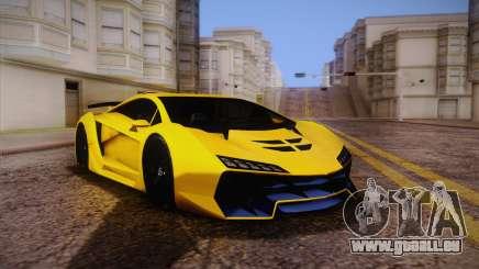 Zentorno из GTA 5 pour GTA San Andreas