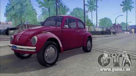 1973 Volkswagen Beetle pour GTA San Andreas