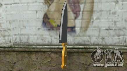 Couteau de cuisine pour GTA San Andreas