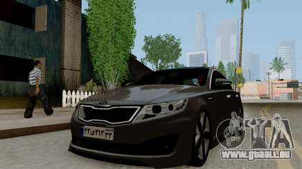Kia Optima Stock pour GTA San Andreas