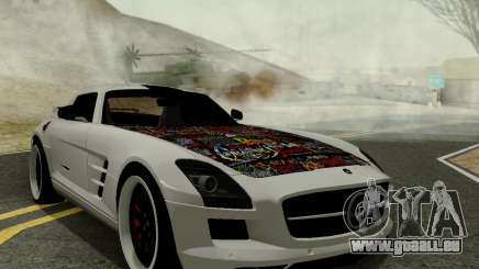 Mercedes SLS AMG Hamann 2010 Metal Style pour GTA San Andreas