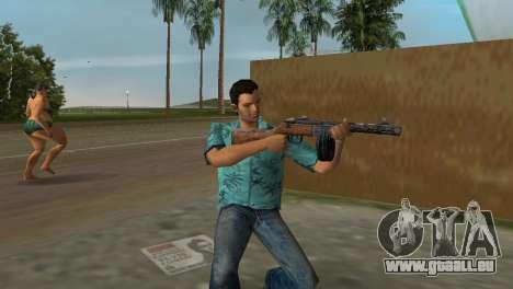 Pistolet Mitrailleur Shpagina pour le quatrième écran GTA Vice City