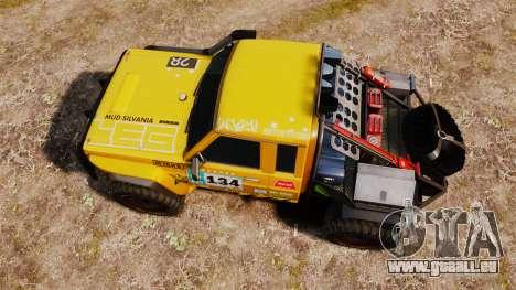 Nissan Patrol Buggy für GTA 4 rechte Ansicht