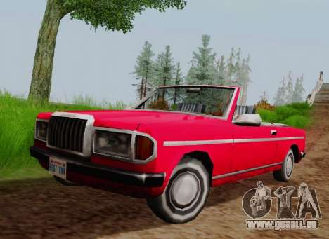 Admiral Cabriolet v2.0 pour GTA San Andreas