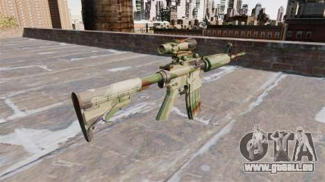 Automatic carbine ABER GEBOREN Camo für GTA 4 Sekunden Bildschirm