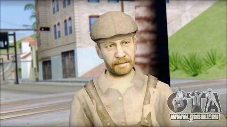 Male Civilian Worker für GTA San Andreas dritten Screenshot