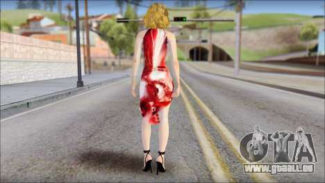 Masha Dress für GTA San Andreas zweiten Screenshot