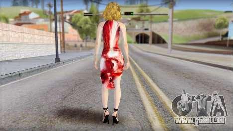 Masha Dress für GTA San Andreas zweiten Screenshot