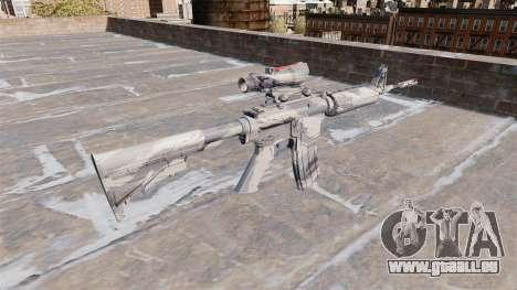 Automatique carabine Gris MA canne Camo pour GTA 4 secondes d'écran