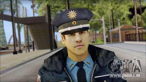 Deutscher Polizist für GTA San Andreas dritten Screenshot