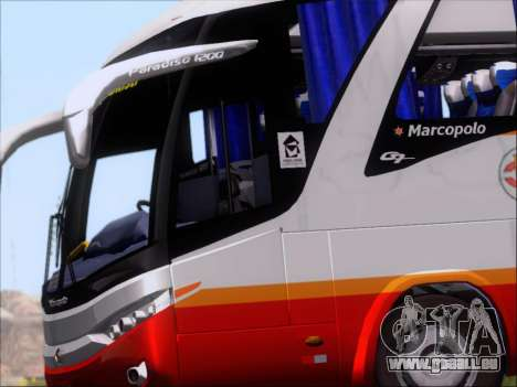Marcopolo Paradiso 1200 Harapan Jaya für GTA San Andreas Innenansicht