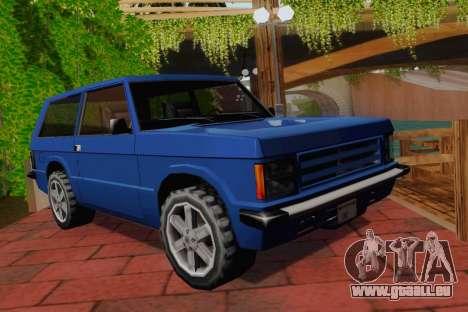 Huntley Coupe für GTA San Andreas