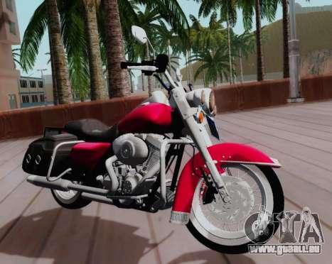 Harley-Davidson Road King Classic 2011 pour GTA San Andreas