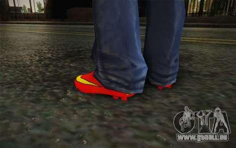 Nike Mercurial Victory 2014 für GTA San Andreas dritten Screenshot