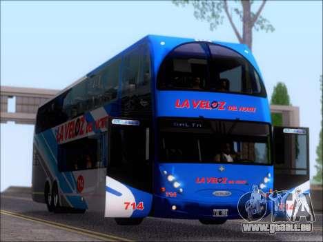 Metalsur Starbus DP 1 6x2 - La Veloz del Norte pour GTA San Andreas vue de côté