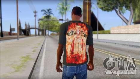 Undertaker T-Shirt für GTA San Andreas zweiten Screenshot