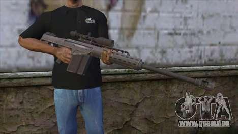 Heavy Sniper from GTA 5 v2 pour GTA San Andreas troisième écran
