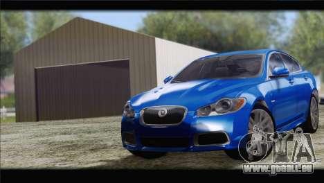Jaguar XFR v1.0 2011 pour GTA San Andreas