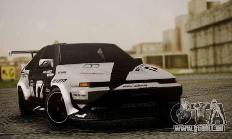 Toyota Corolla AE86 SHIFT2 für GTA San Andreas