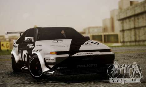 Toyota Corolla AE86 SHIFT2 pour GTA San Andreas