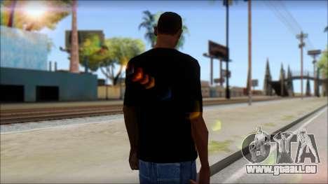 Trivium T-Shirt Mod für GTA San Andreas zweiten Screenshot